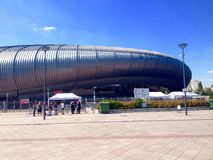 Budapest Sports Arena Royalty Free Stock Photo