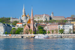 Budapest in a spring morning Royalty Free Stock Photography