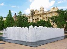 budapest springbrunn Royaltyfri Bild
