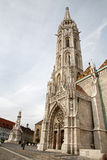 Budapest - St. Matthew's gothic Cathedral Stock Photos