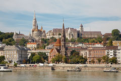 Budapest - St. Matthews Cathedral and Buda Royalty Free Stock Image