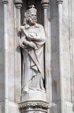 Budapest - st. statua Stephen fotografia royalty free