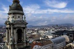 Budapest St Stephen Basilica Royaltyfri Foto