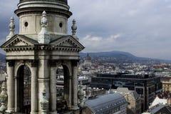 Budapest St Stephen Basilica Arkivbild