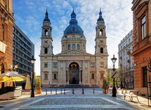 Budapest - St. Stephen's Basilica, Hungary Stock Photography