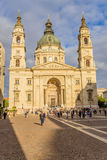 Budapest. St. Stephens Basilica Stock Photo