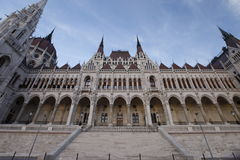 budapest stad Arkivbild