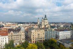 Budapest-Stadt Stockfotografie