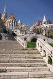 Budapest stairs Stock Images