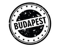 Budapest stamp Stock Photos