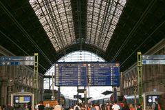 budapest stationsdrev royaltyfri fotografi