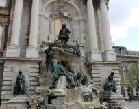 Budapest-Statuen lizenzfreie stockbilder