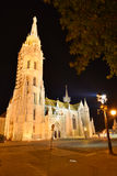 Budapest, StMatthias-Kirche Stockfoto