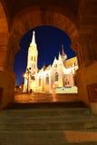 Budapest StMatthias kyrka Arkivbilder