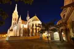 Budapest StMatthias kyrka Fotografering för Bildbyråer