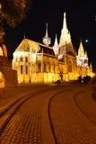 Budapest StMatthias kyrka Royaltyfria Foton