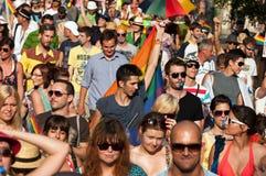 Budapest-Stolz 2012 Stockfotos