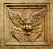Budapest stone angel Stock Photo