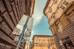 Budapest-Straßen lizenzfreies stockfoto