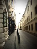 Budapest-Straßen stockfoto