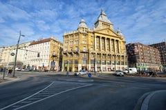 Budapest-Straßenansicht Lizenzfreies Stockfoto