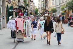 Budapest street Stock Photo
