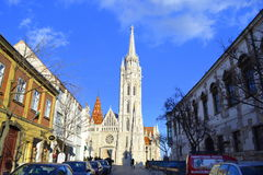 Budapest cathedral Royalty Free Stock Photography