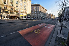 Budapest Street View Stock Photography