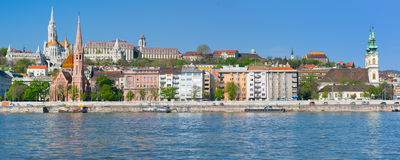 Budapest in a sunny spring morning Royalty Free Stock Photography