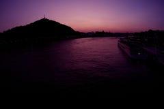 Budapest sunset Stock Images