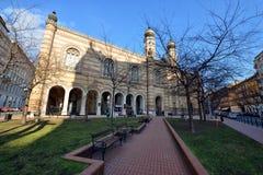 budapest synagoga royaltyfria bilder