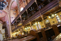 Budapest Synagogue Royalty Free Stock Images