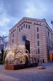 Budapest synagogue Royalty Free Stock Photos
