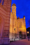 Budapest synagogue Stock Photo