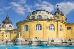 Budapest szechenyi bath Royalty Free Stock Image