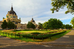 Budapest szechenyi bath Stock Photography