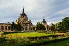 Budapest szechenyi bath Royalty Free Stock Photos