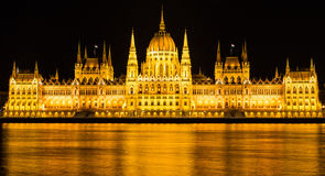 budapest target1696_1_ parlamentu Zdjęcie Royalty Free