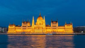 Hungarian Parliament stock video