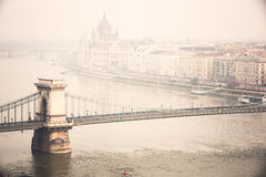 Budapest townscape Royalty Free Stock Photos