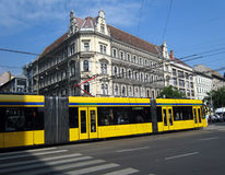 Budapest Tram Stock Photography