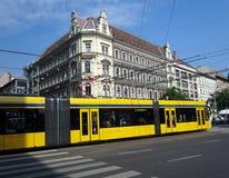 Budapest Tram Stock Photography
