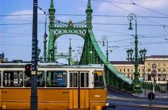 Budapest-Tram Lizenzfreies Stockbild