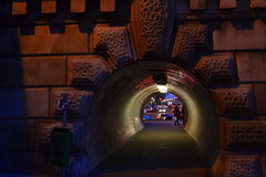 Budapest tunnel Royalty Free Stock Images
