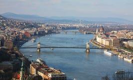 Budapest in Ungarn stockfoto