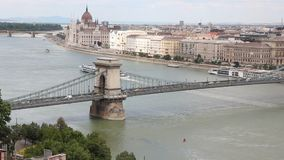 Budapest, Ungheria stock footage