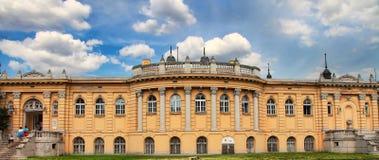 BUDAPEST, UNGHERIA - 27 giugno 2014: Parte dello Szechenyi Medici Fotografie Stock