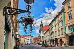 Budapest, Ungheria, il 27 giugno 2014 Sguardo urbano tipico Picturesq Immagini Stock Libere da Diritti