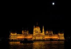 Budapest, Ungheria (Parlamento) Fotografie Stock Libere da Diritti