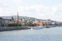 Budapest Hungary view city urban church fisherman bastion cityscape royalty free stock images